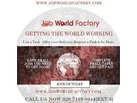 LOOKING FOR A JOB? VISIT JOBWORLDFACTORY NOW! APPLY TODAY AND START WORKING BY THE END OF THIS WEEK