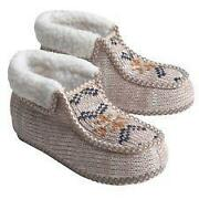 Mens Knit Slippers