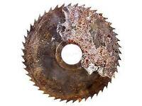 Wanted an old rusty 300mm disc/ saw blade