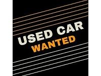 WANTED CAR OR VAN WITH SOME MOT EVEN IF IT REQUIRES SOME WORK