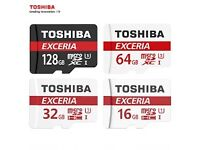 256 GB Toshiba Exceria memory card