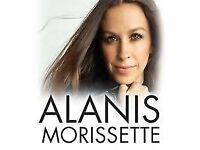 Alanis Morissette this Friday 13th, 2 x seated tickets (together) - July 13th - London - 2018