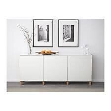 NEW Storage Shelf 1 unit with door BESTÅ Laxviken white no: 890.466.41 60x20x64cm bedroom living£65