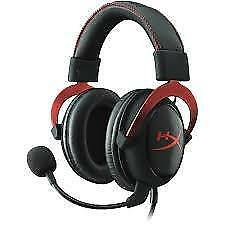 Kingston HyperX Cloud II Cloud II- Pro Gaming Headset (Red)- (KHX-HSCP-RD)