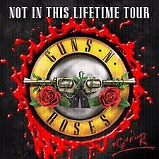2 x Guns n Roses tickets Sydney 10 Feb (sold out) Singleton Singleton Area Preview
