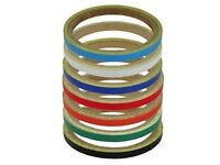 New Bike It Wheel & Motorcycle Reflective Stripes 7mm - Various Colours