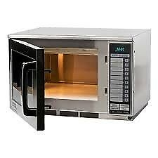 SHARP COMMERCIAL MICROWAVE 1900 WATTS R24AT