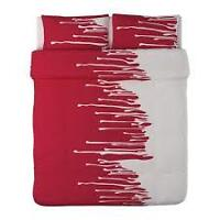 Ikea King Size Duvet Cover - NEW - Hulda Vilse - Discontinued