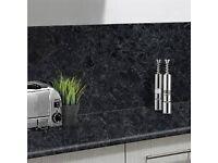 Brand new Black Granite Laminate Work top approx six foot