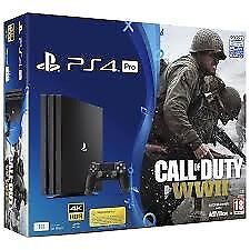 Ps4 pro cod ww2/for honor/headset brand new unopened