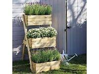 Three Tier Blooma B&Q brand planter pot
