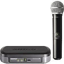 Shure Wireless Microphone System with PG58 Mic