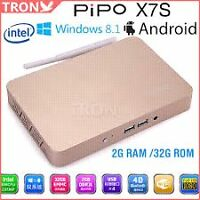 Pipo x7s Gold Dual Boot Android and Windows 8.1 with Bing