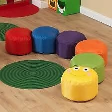 BRAND NEW BAZZOO CATERPILLAR BEAN BAG SET- 6
