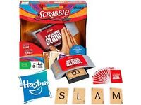 Scrabble Turbo Slam with Electronic Slam Button by Hasbro