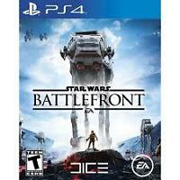 TRADING PS4 STAR WARS BATTLEFRONT NEVER OPENED