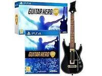 Guitar hero live ps4 with wireless guitar
