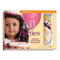 American Girl Doll Parties set - new