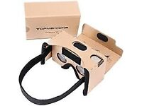 Google Cardboard Virtual Reality Headset. Simple self assembly instructions included