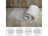 Dunelm Mills Single Feather Duvet 13.5 tog - Never Used - in Box £20