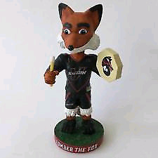 Looking for this Vancouver Stealth Lacrosse Mascot Bobblehead.