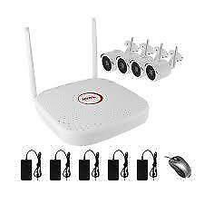 Weekly Promotion !  SPEEDEX 4 CH WIFI 1080P KIT, 4 BULLET CAMERAS, 1 X 8 CH NVR (NO HDD), 4CH-1080P