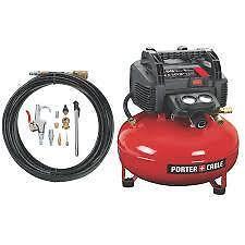 porter cable c2002 compresseur 6 gallons 150psi avec hose et accessoires