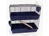 Large two story cage rabbit piggs