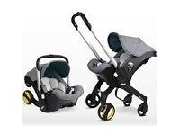 Doona 3 in 1 Baby car seat/Carrier/Pram