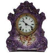 Ansonia Porcelain Clock