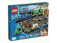 MINT CONDITION LEGO CITY CARGO TRAIN