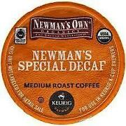 newman decaf kcup - Decaf K Cups