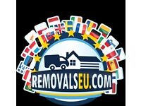 International EU European REMOVALS Germany Scandinavia Denmark Sweden and rest of EUROPE