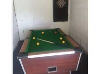 Full size pub style pool table