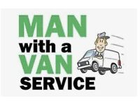 Man with a van for courier, removals, storage