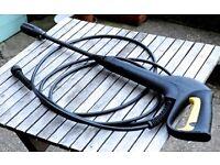Karcher lance and hose