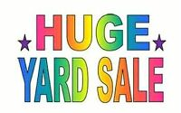 HUGE YARD SALE @ 93 DAY ST