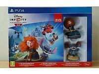 DISNEY INFINITY 2 TOY BOX EDITION LIKE NEW FOR PS4 PLAYSTATION 4