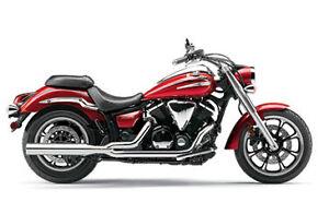 NEW!!! Cobra's HP 2-into-1 exhaust 2009 - 2012 Yamaha XVS950