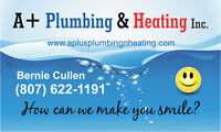 A+Plumbing & Heating Inc.