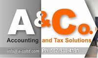 ACCOUNTING AND TAX SERVICES - A&Co. Ltd.