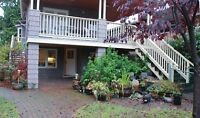 Furnished Bright Main Floor Garden Suite Apartment #556