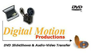 Digital Motion Productions - Preserve Your Memories!