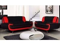 £99 LESS PRICE!!! Brand New PALERMO Sofa 3+2 Set - Leather Suite