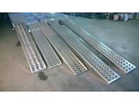 New 2 x Aluminium loading ramps for recovery trucks / plant / trailer.