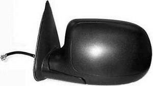 2000-2006 GMC Yukon Door Mirror Power Driver Side Heated With Manual Folding With Puddle Lamp Textured