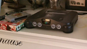 N64 (expansion pack) Ocarina of time, NHL99 in box,