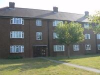 2 BED FLAT, DOUBLE ROOMS, FREE PARKING, RAYNES PARK, EDINBURGH COURT, 15 MINS WALK FROM STATION