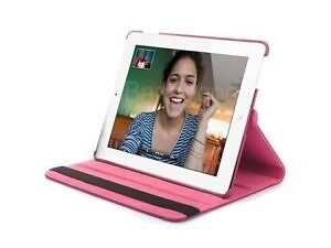 Hot pink or red or blue iPad air rotating 360 degree case Edmonton Edmonton Area image 3