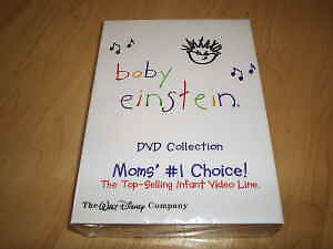 NEW-SEALED-Baby-Einstein-26-disc-dvd-Set-Very-Eductional-Free-Shipping